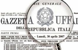 PUBBLICATO IL DECRETO DEL CAPO DELLA POLIZIA SULLA G.U. DEL 23 MAGGIO 2018 N. 118