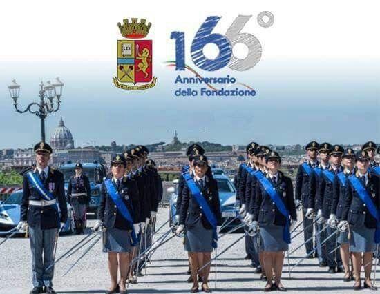 166 ANNIVERSARIO FESTA DELLA POLIZIA: ESSERCI SEMPRE
