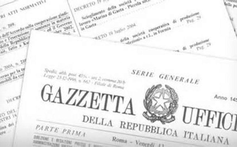 FINANZIATA L'AREA NEGOZIALE AUTONOMA: PUBBLICATO IL DPCM, G.U. DEL 10 MAGGIO 2018