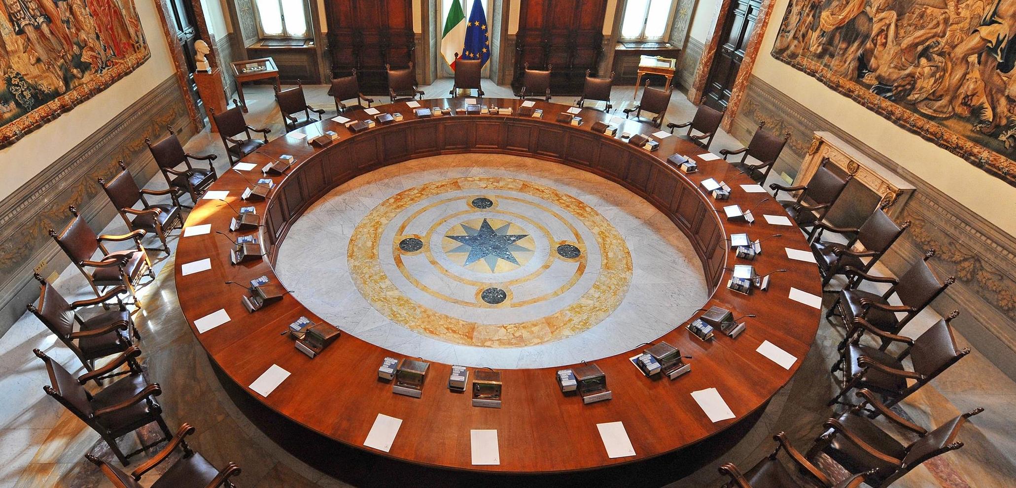 CONSIGLIO DEI MINISTRI: CORRETTIVO - ESAME DEL D.L. SULLA REVISIONE DEI RUOLI DELLE FORZE DI POLIZIA