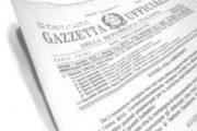 PUBBLICATO DECRETO RECANTE LE MODALITA' DI SVOLGIMENTO DEI CORSI