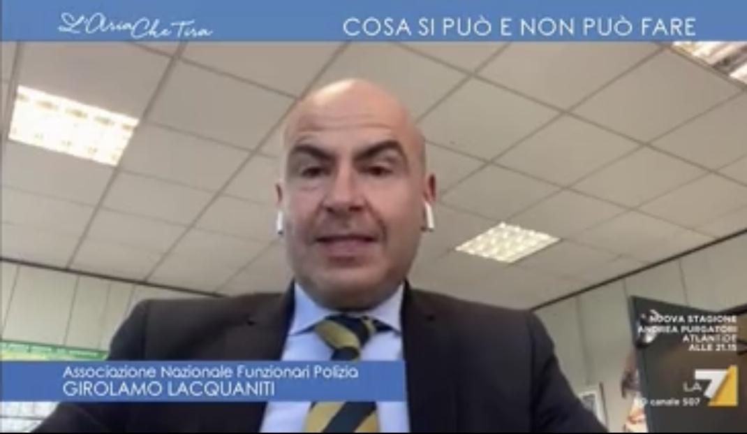CORONAVIRUS INTERVENTO A LA7: LA NUOVA AUTOCERTIFICAZIONE