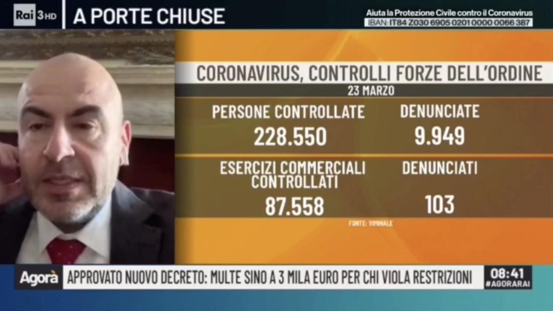 INTERVENTO AD AGORA': DELUSI DAL MANCATO FERMO AMMINISTRATIVO