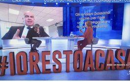 EMERGENZA CORONAVIRUS INTERVENTO A LA7: CONIUGARE RIGORE E UMANITA'