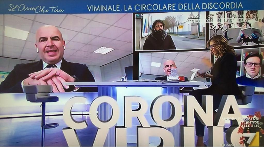 INTERVENTO A L'ARIA CHE TIRA SU PASSEGGIATE FIGLI E JOGGING