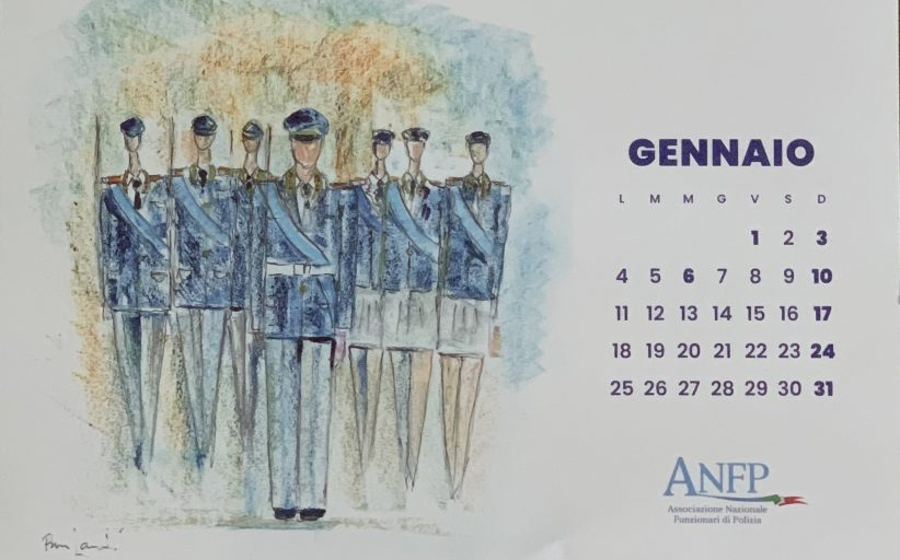 CALENDARIO ANFP 2021. SENSO DI RESPONSABILITA' E SPIRITO DI APPARTENENZA
