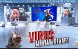 COVID-19, NUOVI DIVIETI: DOMANDE E RISPOSTE ALLA TRASMISSIONE L'ARIA CHE TIRA